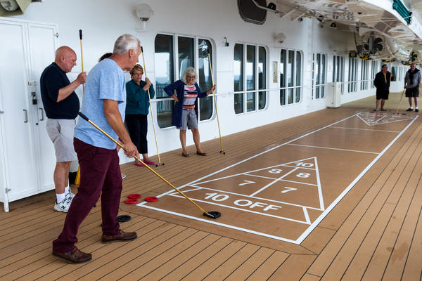 Shuffleboard on Norwegian Jade (Photo: Cruise Critic)