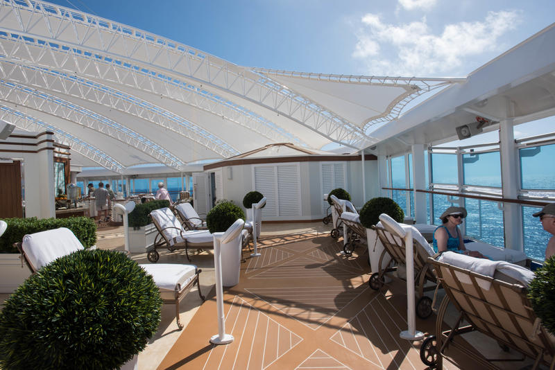 The Sanctuary on Regal Princess