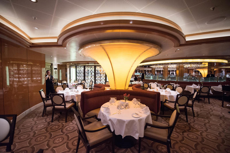 Concerto Dining Room on Regal Princess