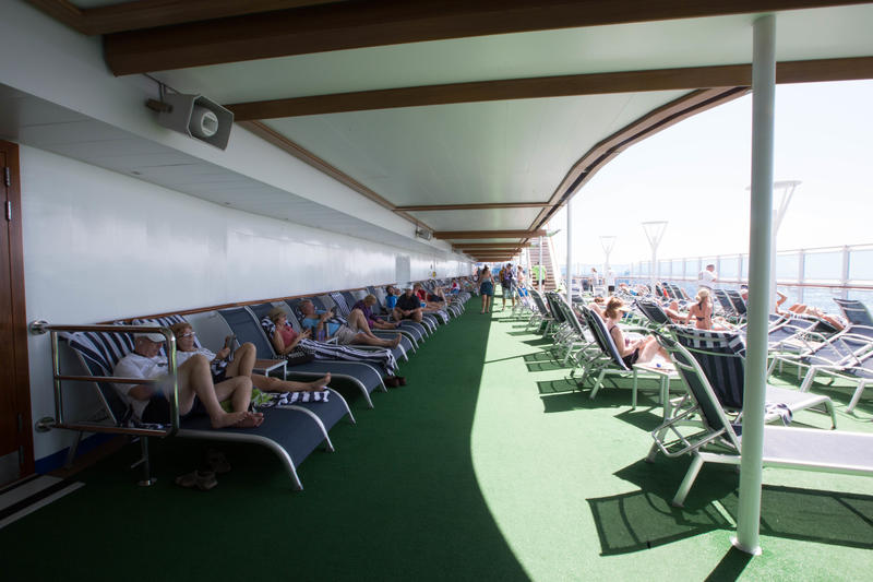 The Greens on Regal Princess
