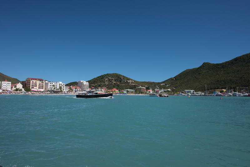 Water Taxi at St. Maarten Port