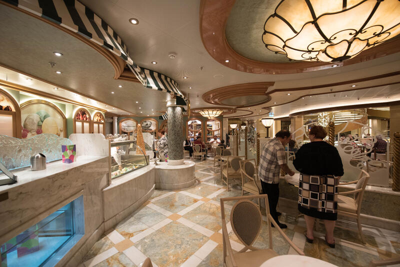 Gelato Bar on Regal Princess