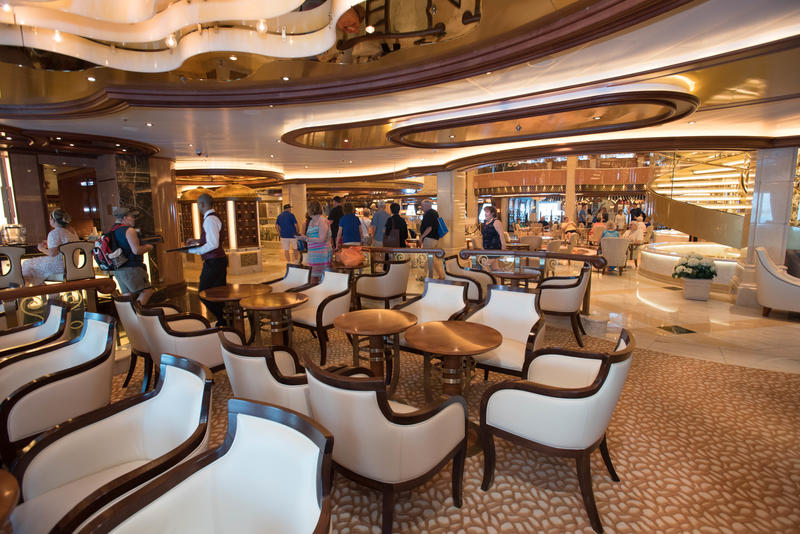 The Piazza Bar on Regal Princess