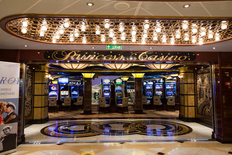 Casino on Regal Princess