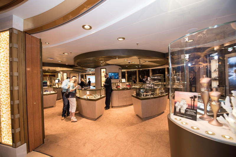 Shops on the Regal Princess