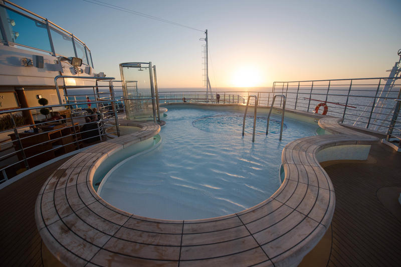 Terrace Pool on Regal Princess