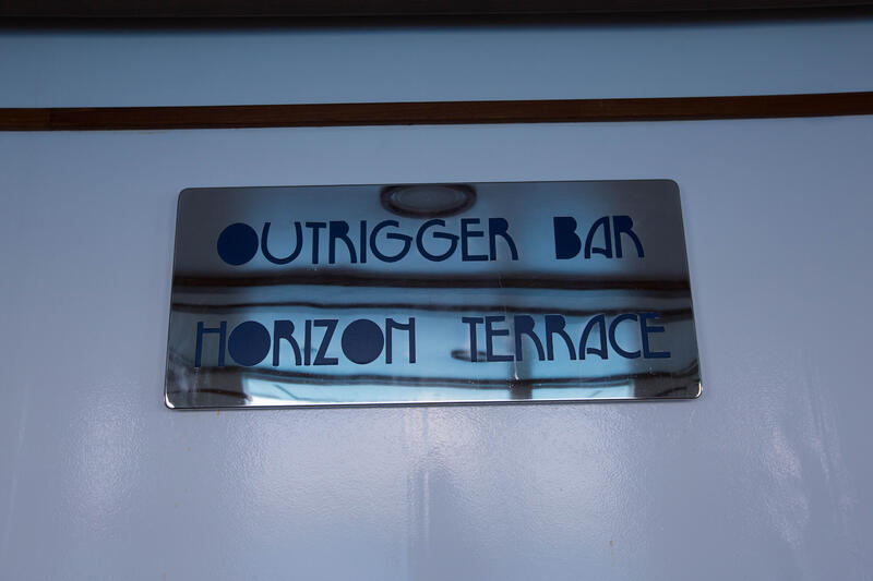 Outrigger Bar on Regal Princess