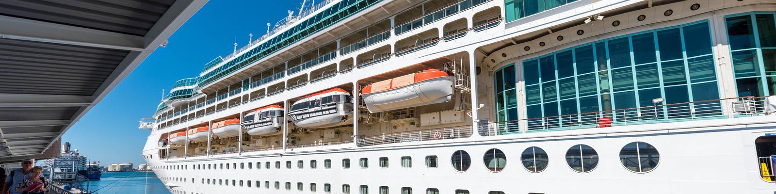 Rhapsody of the Seas in Barcelona (Photo: Cruise Critic)