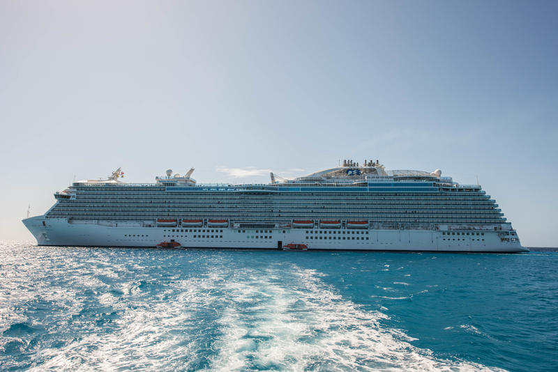 Exteriors of Regal Princess