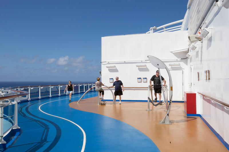 Jogging Track on Regal Princess
