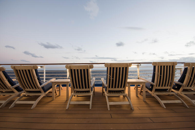 Observatory Deck on Regal Princess