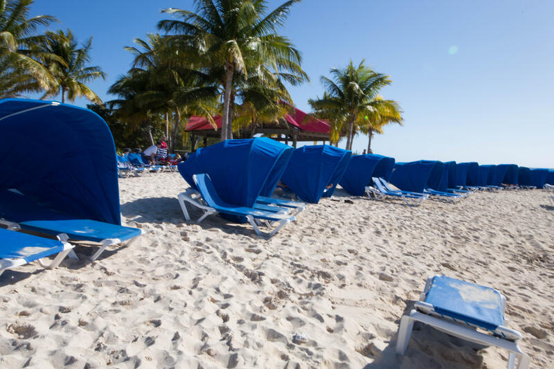Beach at Princess Cays Port