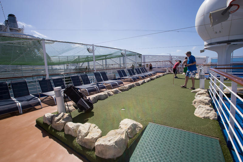 Lawn Court on Regal Princess