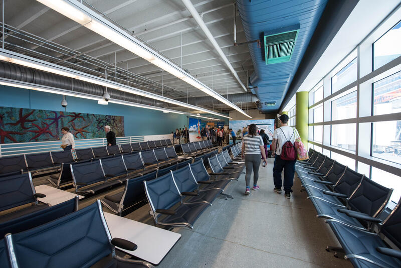 Boarding Area at Ft. Lauderdale Port