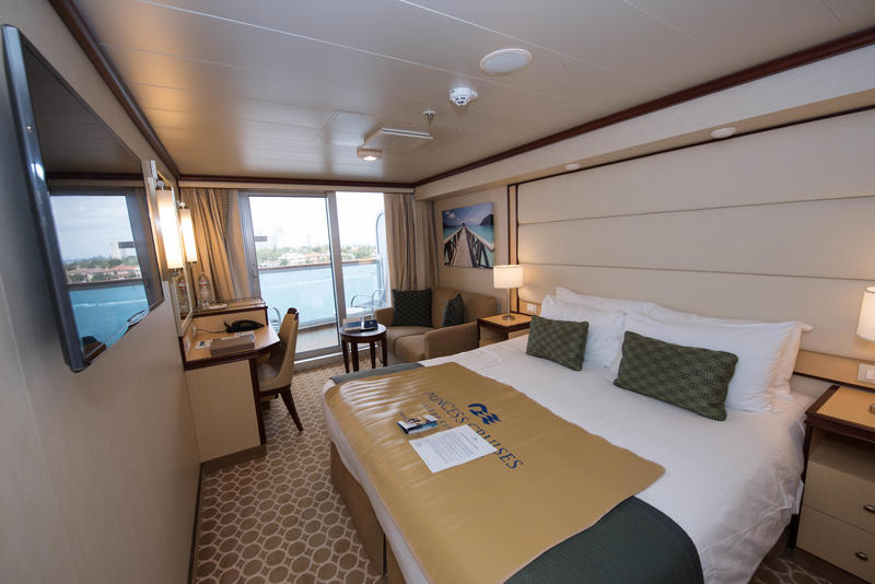Deluxe Balcony Cabin on Regal Princess