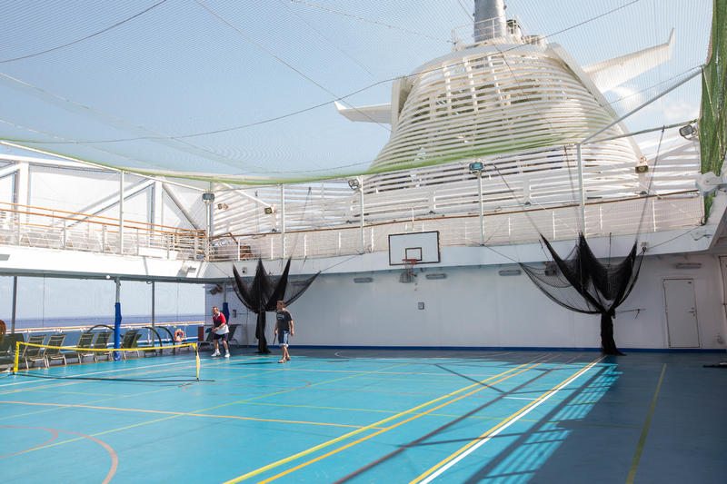 Center Court on Regal Princess