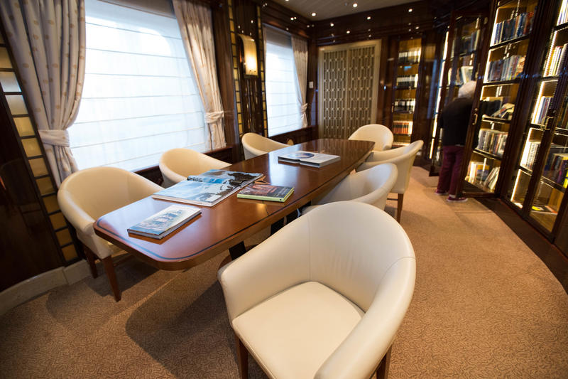Library on Regal Princess