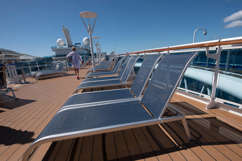 Sky Deck on Regal Princess