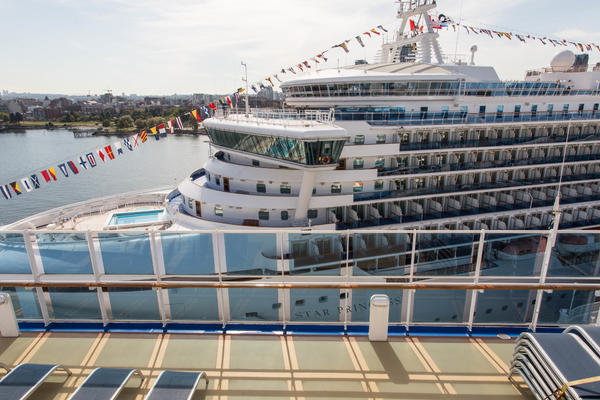 Princess Cruises ships in port (Photo: Cruise Critic)