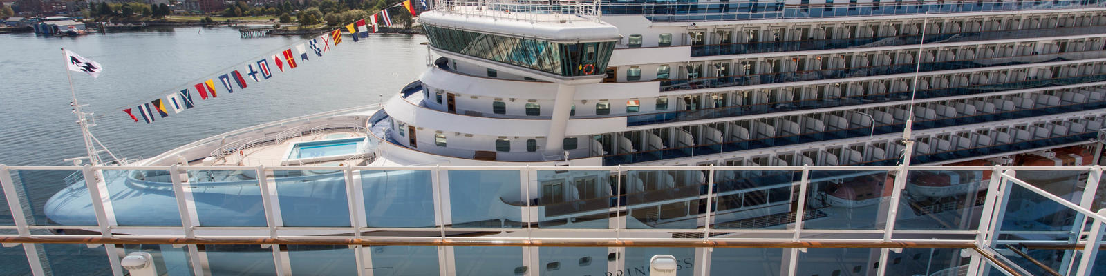 Princess Cruises ships in port (Photo: Cruise Critic)