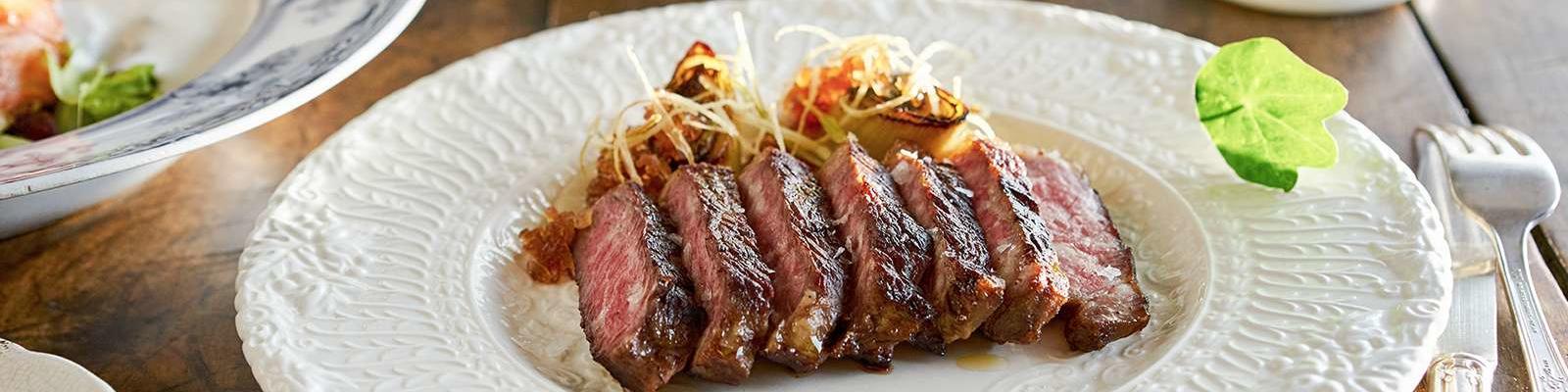Steak entree at Share on Sun Princess (Photo: Princess Cruises)