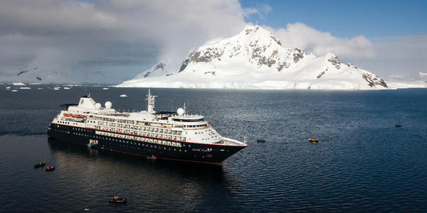 Silver Cloud offers the cruise industry's most luxurious treks to the world's most remote places.  (Photo: Silversea Cruises)