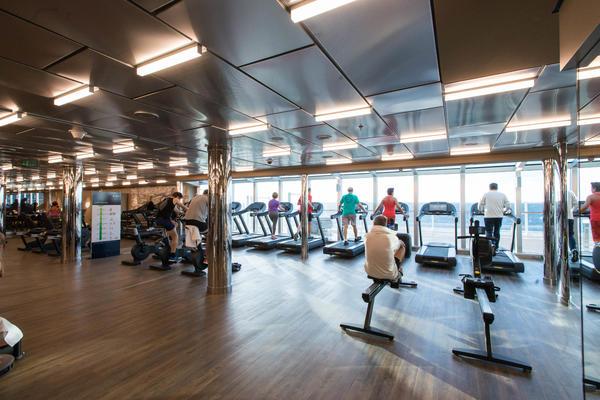 Fitness Center on MSC Seaside (Photo: Cruise Critic)