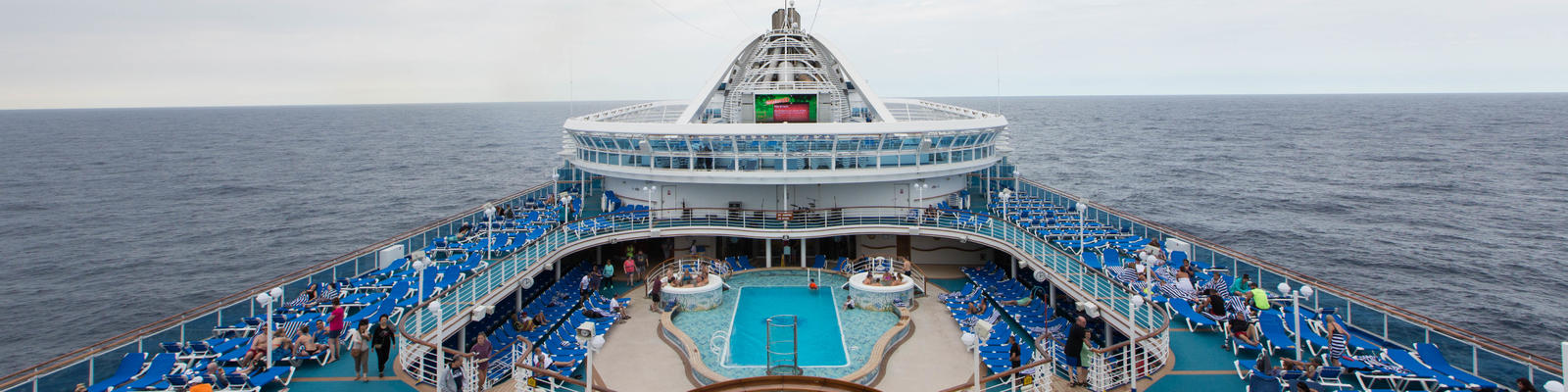 The Sun Decks on Caribbean Princess (Photo: Cruise Critic)