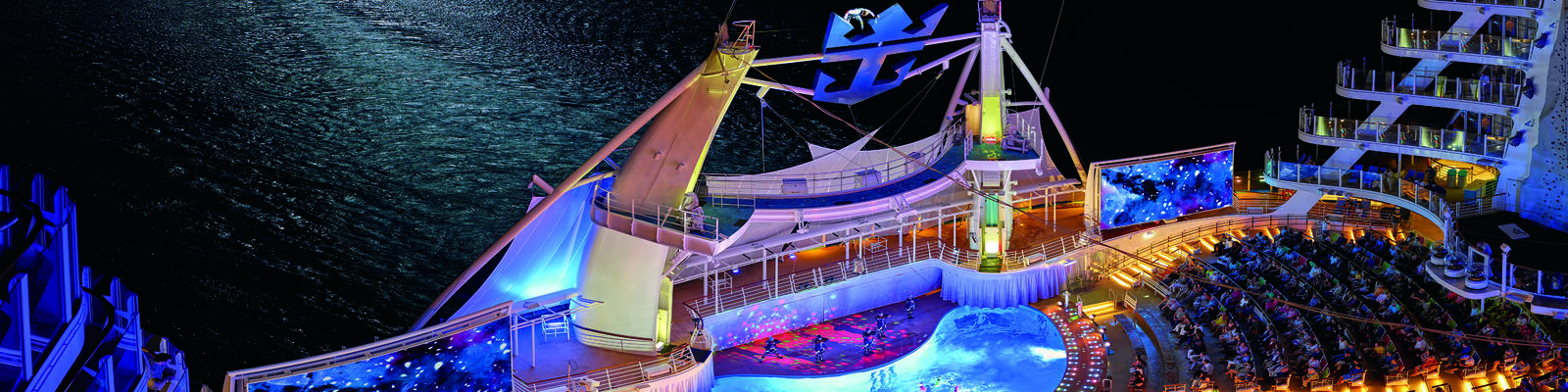 The AquaTheater on Royal Caribbean's Allure of the Seas (Photo: Royal Caribbean International)