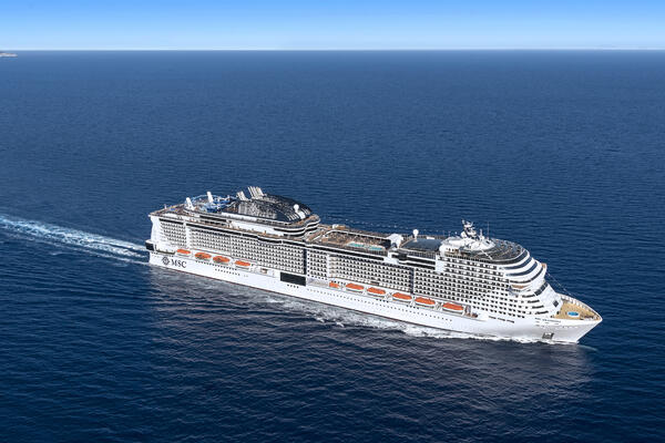 MSC Grandiosa Inaugural Voyage Delayed Due to Bay of Biscay Storm, Two Ports Skipped