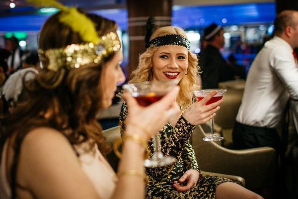 The Gatsby Party (Photo: P&O Cruises Australia)