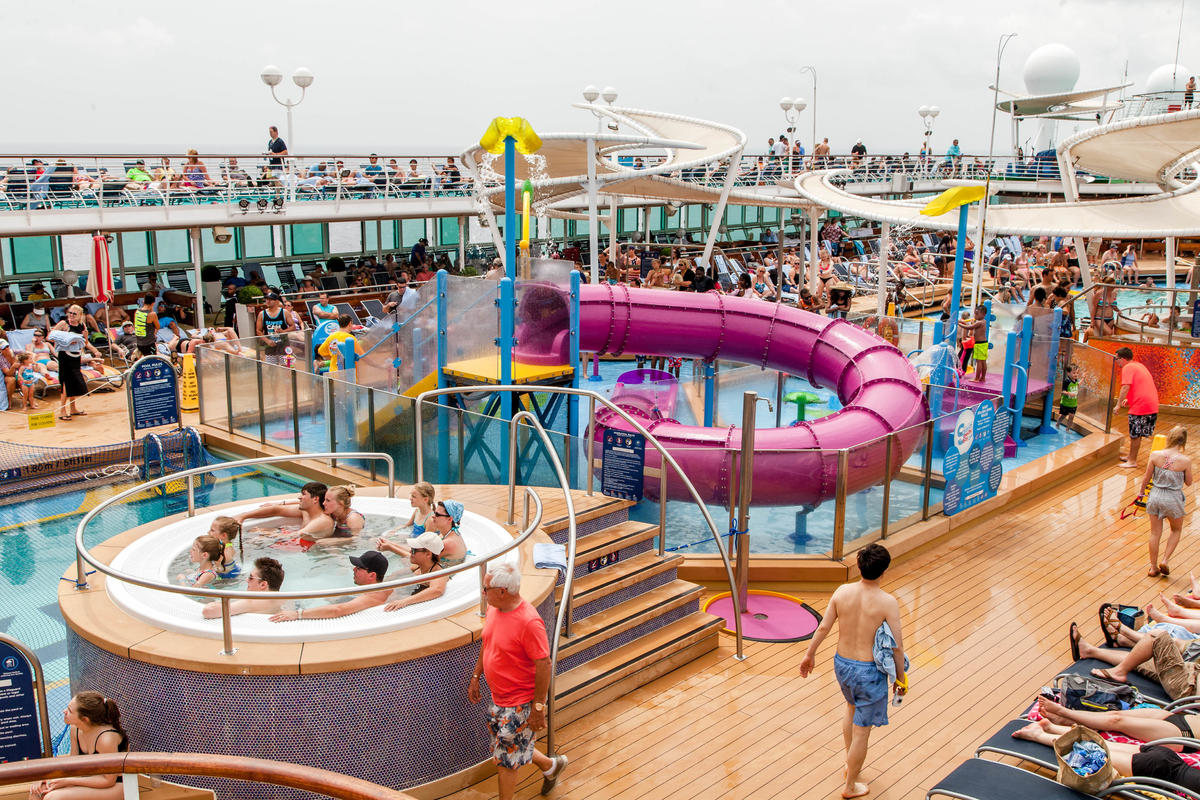 Royal Caribbean Water Parks H2o Zone Vs Splashaway Bay