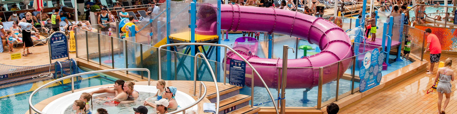 Royal Caribbean Water Parks: H2O Zone vs. Splashaway Bay (Photo: Cruise Critic)