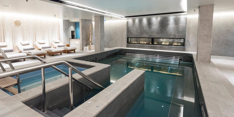 The Thermal Suite in Viking Sea's Liv Nordic Spa (Photo: Cruise Critic)