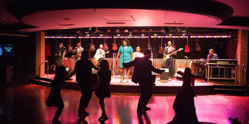 B.B. King's Blues Club on the Eurodam (Photo: Cruise Critic)