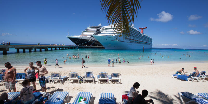 Beach at Grand Turk Port
