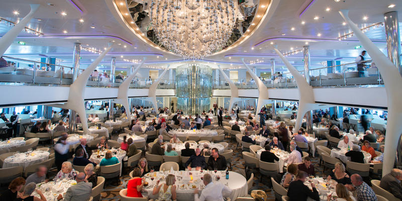The Moonlight Sonata Dining Room on Celebrity Eclipse (Photo: Cruise Critic)