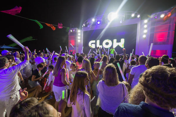 Glow Party on Norwegian Escape (Photo: Cruise Critic)