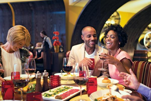 6 Best Italian Restaurants on Cruises (Photo: Celebrity Cruise Lines)