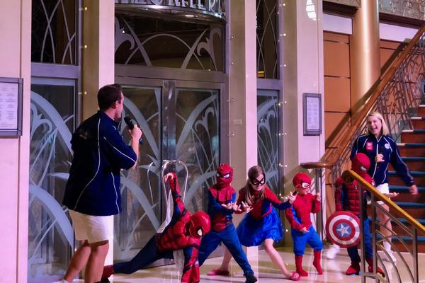 Marvel Day at Sea on Disney Cruise Line (Photo: Chris Gray Faust)