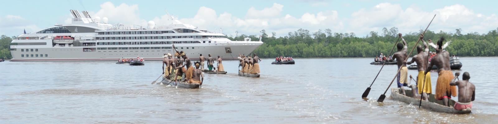 Shore excursion in Papua New Guinea (Photo: Ponant)