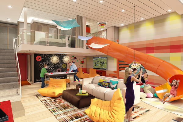 Ultimate Family Suite on Royal Caribbean's Symphony of the Seas (Photo: Royal Caribbean)