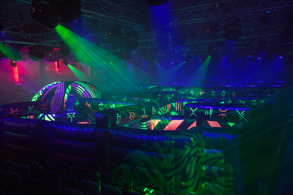 The Battle for Planet Z Laser Tag Arena on Symphony of the Seas (Photo: SBW-Photo/Royal Caribbean)