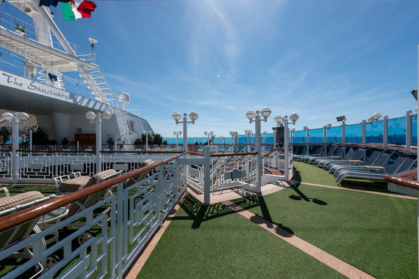 7 Best Adults-Only Cruise Sun Decks (Photo: Cruise Critic)