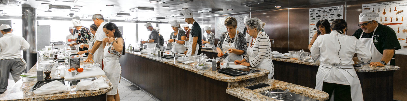 Culinary Center on Oceania's Riviera (Photo: Cruise Critic)