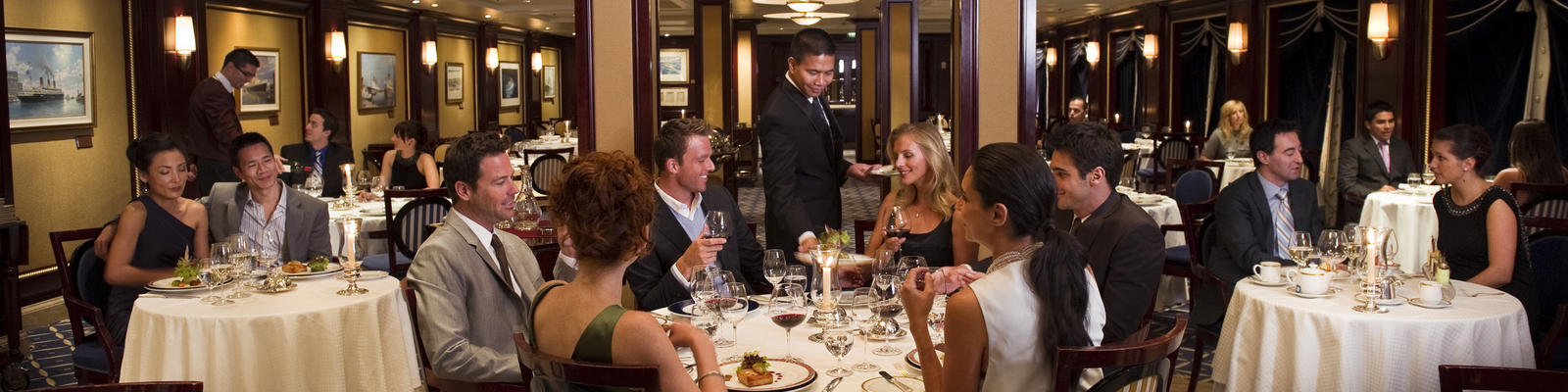 Formally assigned dining isn't always the right fit (Photo: Celebrity Cruises)