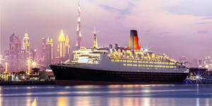 Queen Elizabeth 2 in Dubai (Photo: Cunard)