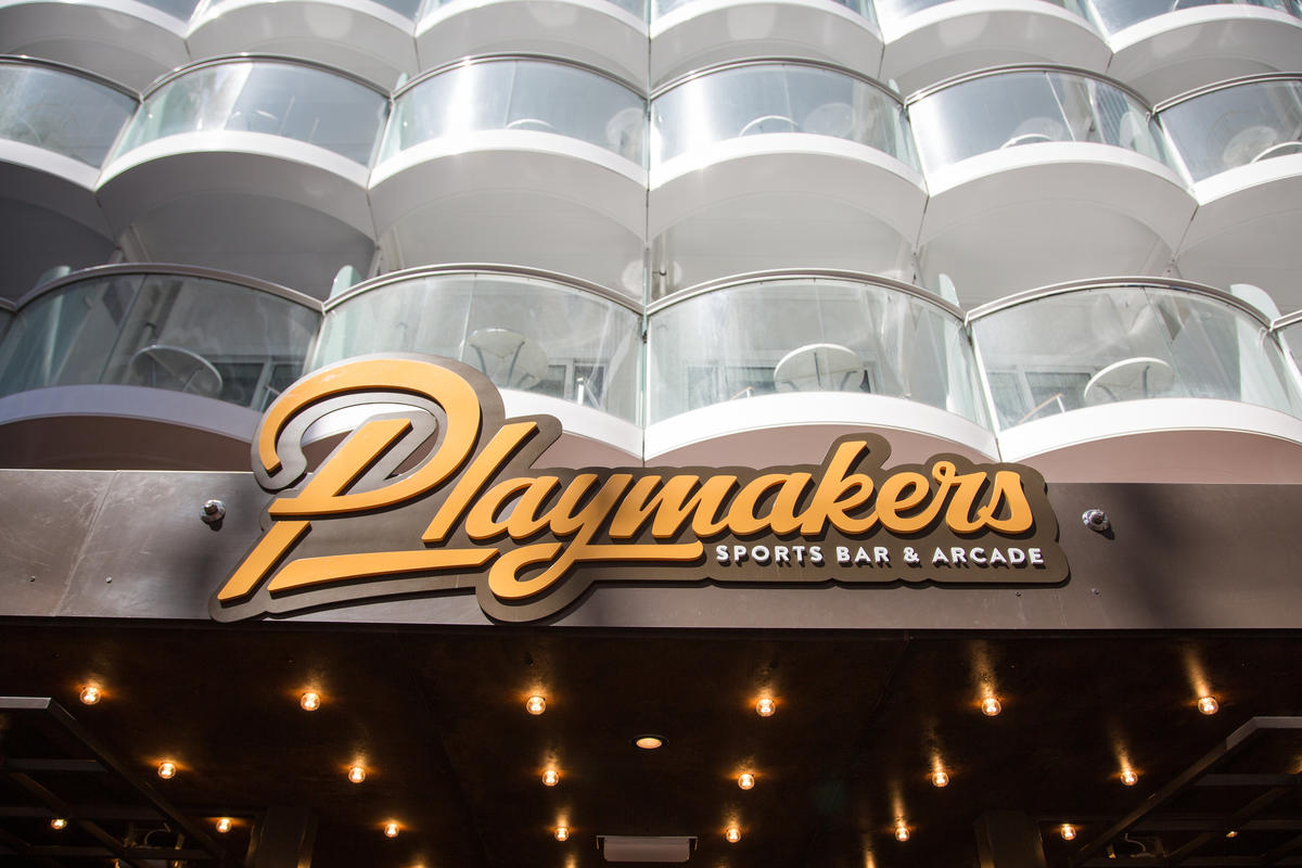 Playmakers Sports Bar On Royal Caribbean Cruises Cruise Critic