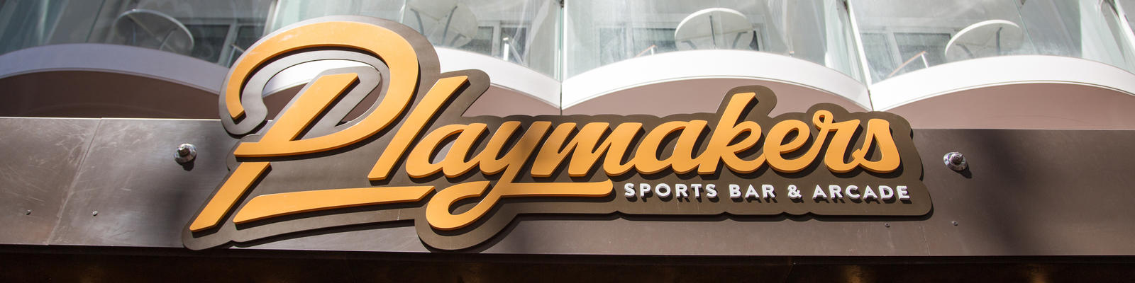 Playmakers Sports Bar on Royal Caribbean's Symphony of the Seas (Photo: Royal Caribbean)