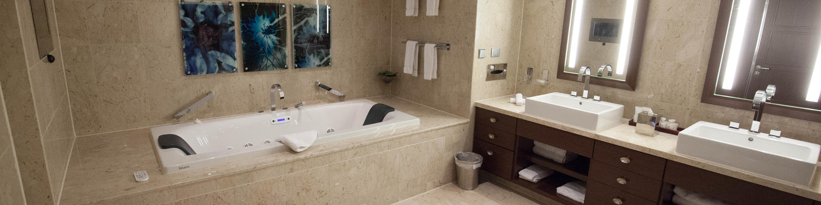 The Penthouse Suite Bathroom On Celebrity Reflection (Photo: Cruise Critic)